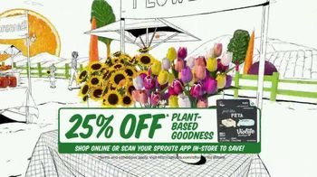 Sprouts Farmers Market TV Spot, 'Everything You Love: 25% Off' - Thumbnail 5