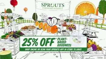 Sprouts Farmers Market TV Spot, 'Everything You Love: 25% Off' - Thumbnail 6