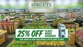 Sprouts Farmers Market TV Spot, 'Everything You Love: 25% Off' - Thumbnail 7