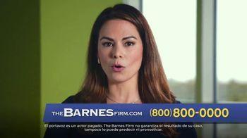 The Barnes Firm TV Spot, 'Aquí para ayudarte' [Spanish]