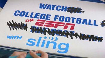 Sling TV Spot, 'ESPN: College Football' Featuring Rece Davis - Thumbnail 4