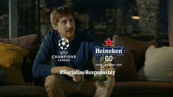 Heineken TV Spot, 'UEFA Champions League: Earthquake' - Thumbnail 9
