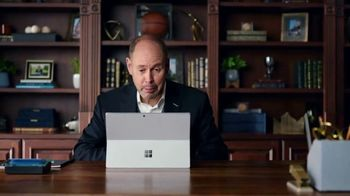 Microsoft Office TV Spot, 'Bow Tie' Featuring Ernie Johnson Jr., Kenny Smith, Reggie Miller - Thumbnail 8