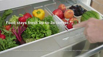 Bosch Home TV Spot, 'Keep Foods Fresh: 0% Financing' - Thumbnail 7