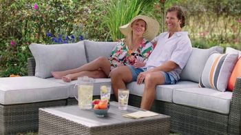 Ashley HomeStore Memorial Day Sale TV Spot, 'Ends Monday: Up to 25% Off, 0% Interest' - Thumbnail 2