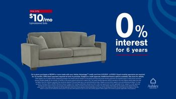 Ashley HomeStore Memorial Day Sale TV Spot, 'Ends Monday: Up to 25% Off, 0% Interest' - Thumbnail 5