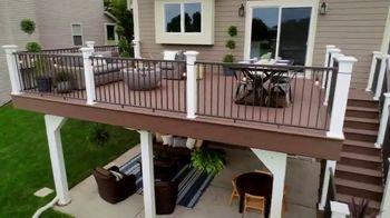 TimberTech TV Spot, 'Home.Made: Outdoor Retreat'
