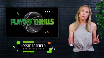 DraftKings Sportsbook TV Spot, 'Playoff Thrills: Bet $1 to Win $100'