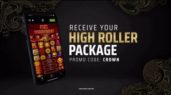 DraftKings Casino TV Spot, 'High Roller Package'