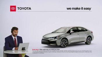 2021 Toyota Corolla TV Spot, 'Commentary: Corolla' [T2] - Thumbnail 1