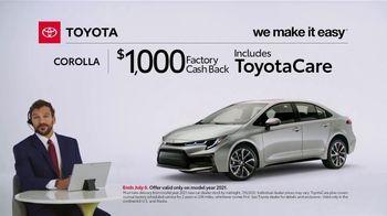 2021 Toyota Corolla TV Spot, 'Commentary: Corolla' [T2] - Thumbnail 2