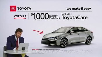 2021 Toyota Corolla TV Spot, 'Commentary: Corolla' [T2] - Thumbnail 6