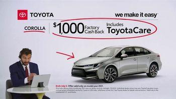 2021 Toyota Corolla TV Spot, 'Commentary: Corolla' [T2] - Thumbnail 7
