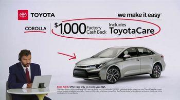 2021 Toyota Corolla TV Spot, 'Commentary: Corolla' [T2] - Thumbnail 8