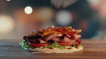 Arby's Smokehouse Brisket Bacon Flatbread TV Spot, 'Smoked Low and Slow' Song by YOGI - Thumbnail 6