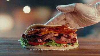 Arby's Smokehouse Brisket Bacon Flatbread TV Spot, 'Smoked Low and Slow' Song by YOGI - Thumbnail 7