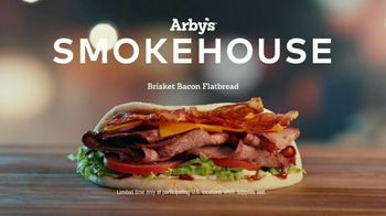 Arby's Smokehouse Brisket Bacon Flatbread TV Spot, 'Smoked Low and Slow' Song by YOGI - Thumbnail 8