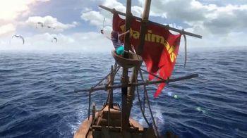 Danimals TV Spot, 'Adventurous by Nature: Pirate Ship'