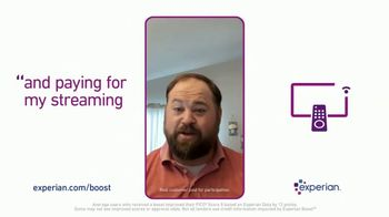 Experian Boost TV Spot, 'Credit for Paying Utilities and Streaming Services' - Thumbnail 7