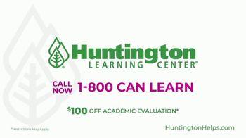 Huntington Learning Center TV Spot, 'Back on Track: $100 Off Academic Evaluation' - Thumbnail 8