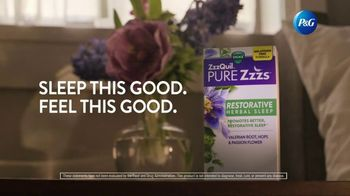 Vicks ZzzQuil PURE Zzzs Restorative Herbal Sleep TV Spot, 'Tired of Being Tired' - Thumbnail 8