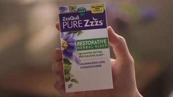 Vicks ZzzQuil PURE Zzzs Restorative Herbal Sleep TV Spot, 'Tired of Being Tired' - Thumbnail 6