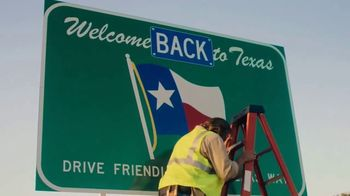 Travel Texas TV Spot, 'Welcome Back' Song by Black Pumas