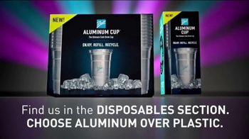 Ball Aluminum Cup TV Spot, 'Recycling Has Never Been So Refreshing: Disposables Section' - Thumbnail 8