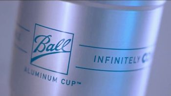 Ball Aluminum Cup TV Spot, 'Recycling Has Never Been So Refreshing: Disposables Section' - Thumbnail 2