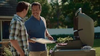 Omaha Steaks TV Spot, 'Put a Dent in It: Father's Day: 12 Free Burgers'