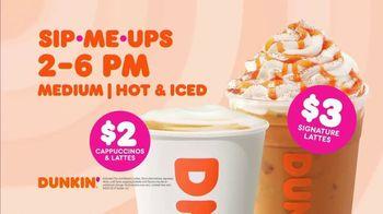 Dunkin' TV Spot, 'Get Running: Cappuccinos & Signature Lattes' - Thumbnail 5