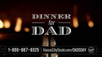 Kansas City Steak Company Dinner for Dad Package TV Spot, 'Father's Day Gift'