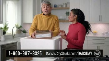 Kansas City Steak Company Dinner for Dad Package TV Spot, 'Father's Day Gift' - Thumbnail 1
