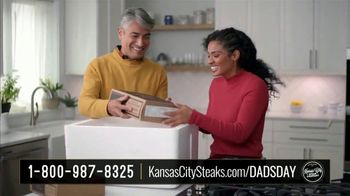 Kansas City Steak Company Dinner for Dad Package TV Spot, 'Father's Day Gift' - Thumbnail 2