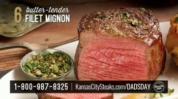 Kansas City Steak Company Dinner for Dad Package TV Spot, 'Father's Day Gift' - Thumbnail 4
