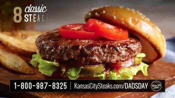 Kansas City Steak Company Dinner for Dad Package TV Spot, 'Father's Day Gift' - Thumbnail 6