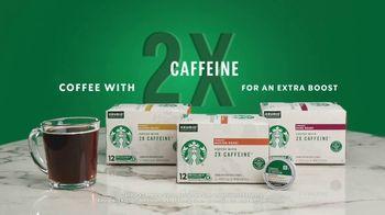 Starbucks 2X Caffeine K-Cup Pods TV Spot, 'Rise Then Shine' - Thumbnail 8