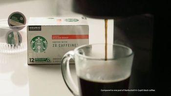 Starbucks 2X Caffeine K-Cup Pods TV Spot, 'Rise Then Shine' - Thumbnail 5