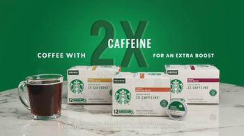 Starbucks 2X Caffeine K-Cup Pods TV Spot, 'Rise Then Shine' - Thumbnail 7