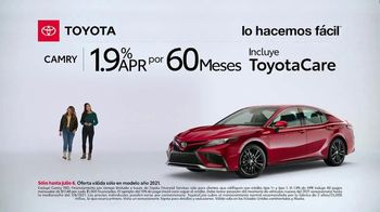 2021 Toyota Camry TV Spot, '¿Qué es eso?: Camry' [Spanish] [T2] - Thumbnail 1