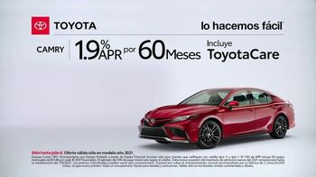 2021 Toyota Camry TV Spot, '¿Qué es eso?: Camry' [Spanish] [T2] - Thumbnail 7