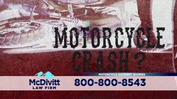 McDivitt Law Firm, P.C. TV Spot, 'Motorcycle Crash' Featuring Paul Teutul Sr. - Thumbnail 1