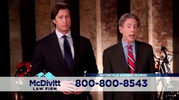 McDivitt Law Firm, P.C. TV Spot, 'Motorcycle Crash' Featuring Paul Teutul Sr. - Thumbnail 4