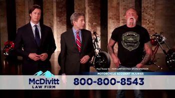 McDivitt Law Firm, P.C. TV Spot, 'Motorcycle Crash' Featuring Paul Teutul Sr. - Thumbnail 5