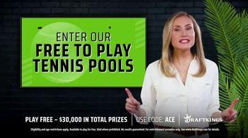 DraftKings TV Spot, 'Free to Play Tennis Pools' - Thumbnail 4