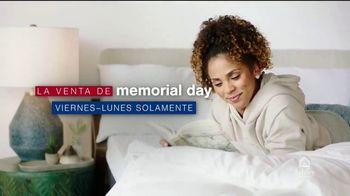 Ashley HomeStore Venta de Memorial Day TV Spot, 'Base ajustable gratis y Ashley Cash' [Spanish]