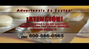The Sentinel Group TV Spot, 'Advertencia sobre Zantac' [Spanish]