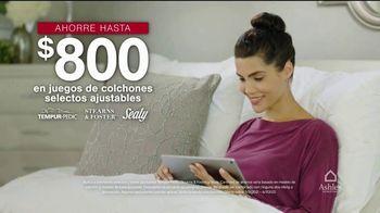 Ashley HomeStore Venta de Memorial Day TV Spot, 'Colchón king por el precio de un twin' [Spanish] - Thumbnail 5