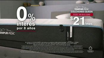 Ashley HomeStore Venta de Memorial Day TV Spot, 'Colchón king por el precio de un twin' [Spanish] - Thumbnail 6