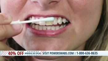 Power Swabs Memorial Day Special TV Spot, 'Clinically Studied' - Thumbnail 4